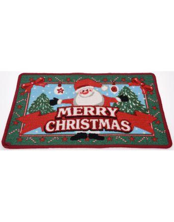 Kerst Deurmat Happy Santa...
