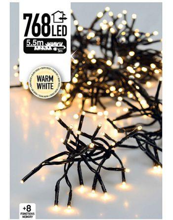 Clusterverlichting 768 LED...
