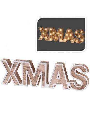 XMAS - houten letters -...