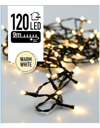 Kerstverlichting 120 LED's...