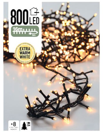 Micro Cluster 800 LED's 16...