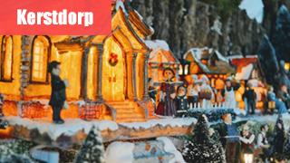 Bouw je eigen kerstdorp