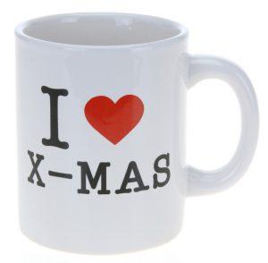 Mokken I love X-Mas Kerst