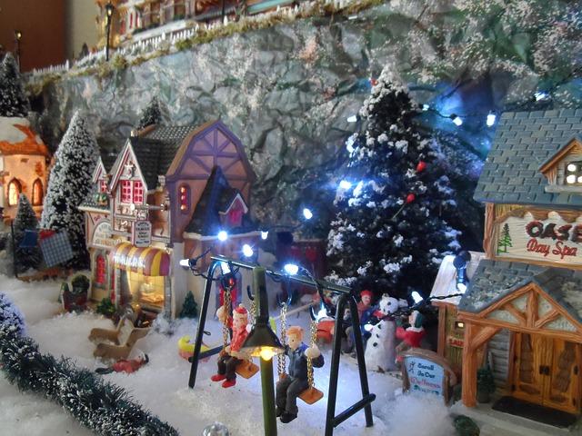 De mooiste kerstdorp items van Christmas Place