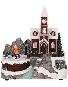 Kersthuisje kerstdorp verlichting Christmas Place