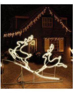 Rendieren verlichting kerst