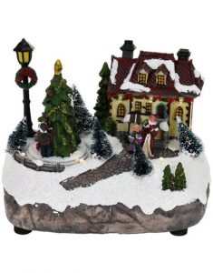 Verlicht kersthuisje Christmas Place