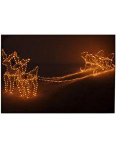 3D rendieren met slee 2 meter Christmas Place