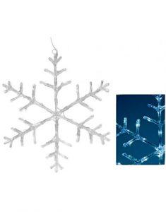 Sneeuwvlok 45 cm Christmas Place